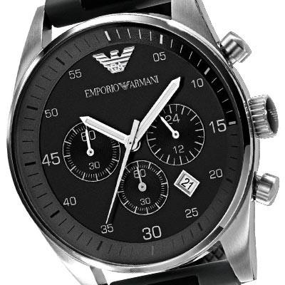 Emporio Armani AR5866 noir quartz