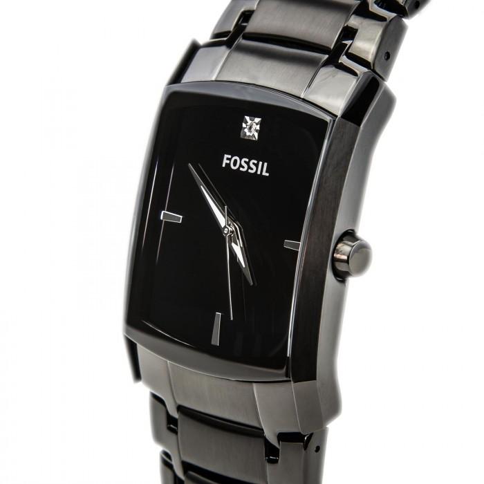 Fossil FS4159 noir quartz