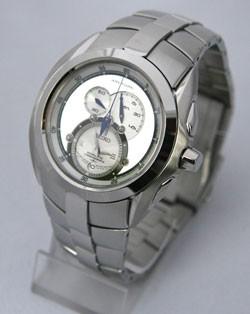 Seiko SNL045 argent quartz