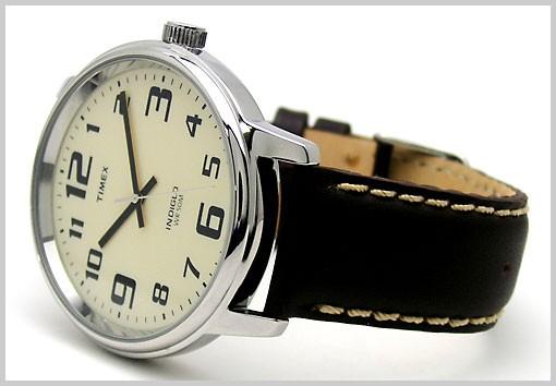 Timex T28201PF marron quartz