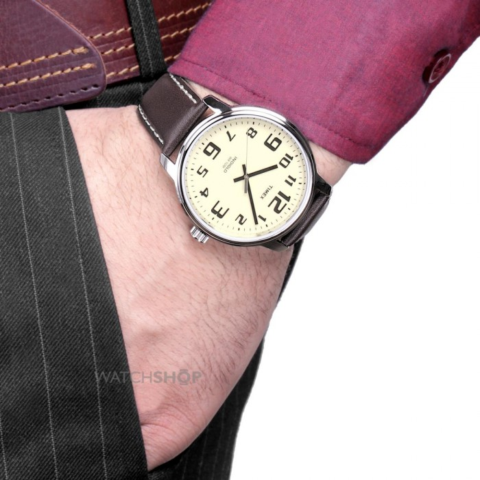 Timex T28201PF homme rond acier