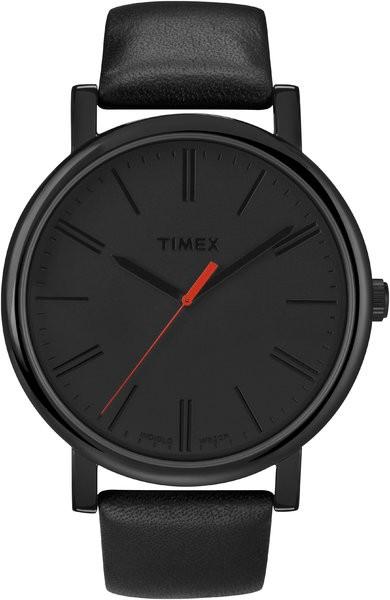 Timex T2N794D7 homme rond acier
