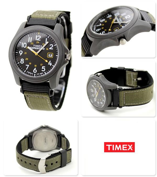 Timex T42571 plastique noir quartz
