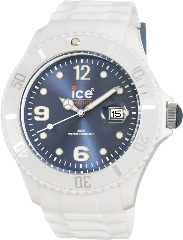 ICE-Watch SI.WJ.U.S blanc bleu quartz