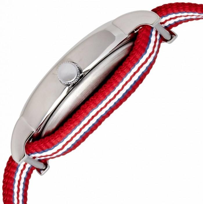 Timex T2N746PF blanc rouge quartz