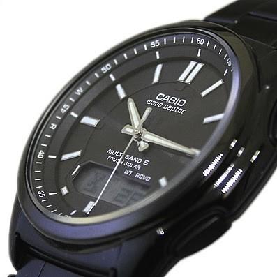 Casio WVA-M630DB-1AER homme rond acier