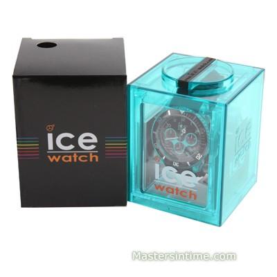 ICE-Watch CH.KTE.BB.S homme rond acier