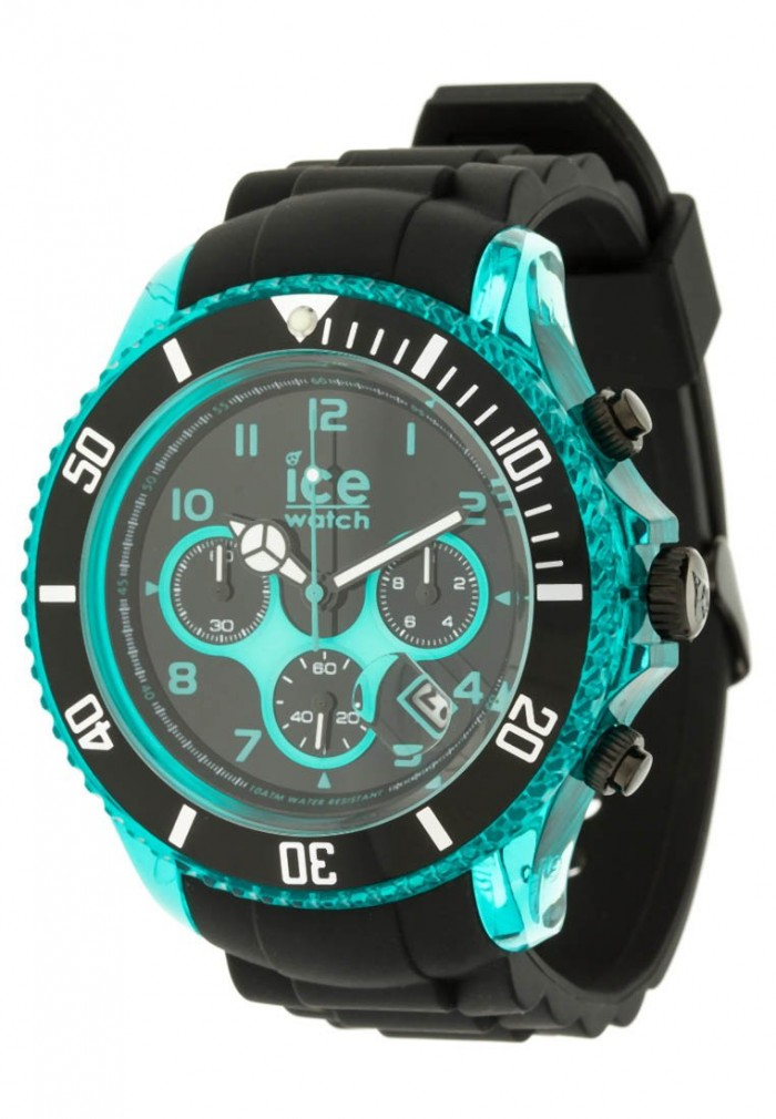 ICE-Watch CH.KTE.BB.S plastique noir quartz